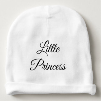 little princess baby beanie