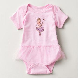Little Princess Ballerina Baby Bodysuit