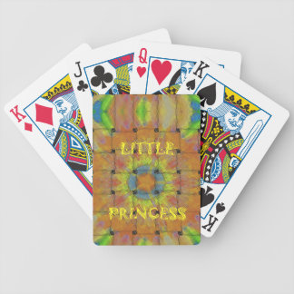 Little Princess Beautiful  colors Design Bicycle Playing Cards