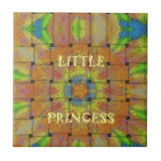 Little Princess Beautiful  colors Design Ceramic Tile