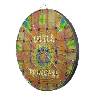 Little Princess Beautiful  colors Design Dartboard