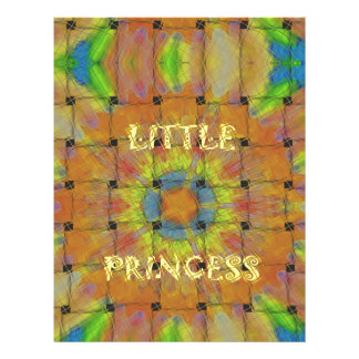 Little Princess Beautiful  colors Design Letterhead