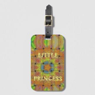 Little Princess Beautiful  colors Design Luggage Tag