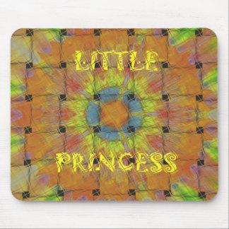 Little Princess Beautiful  colors Design Mouse Pad