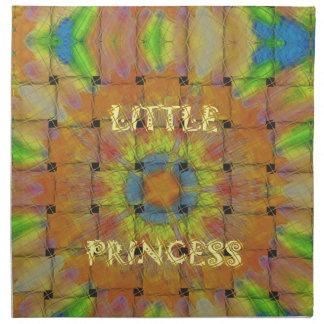 Little Princess Beautiful  colors Design Napkin