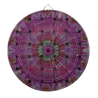 Little Princess Beautiful Fantastic Feminine Desig Dartboard