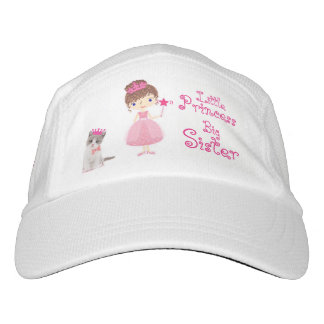 Little Princess - Big Sister Headsweats Hat