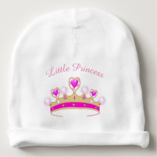 Little Princess crown baby girl beanie cap Baby Beanie