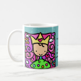 Little princess Custom text Whimsical cup