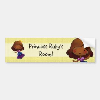 Little Princess Door sticker Bumper Sticker