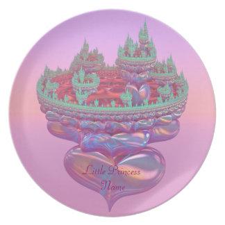 Little Princess Fairytale Castle Plate