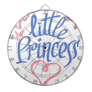little princess heart design dartboard