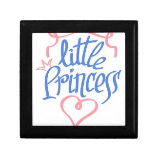 little princess heart design gift box