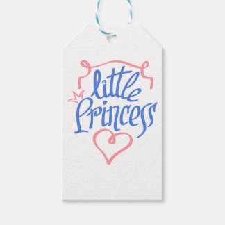 little princess heart design gift tags