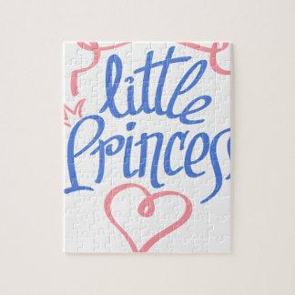 little princess heart design jigsaw puzzle