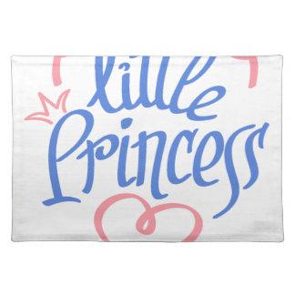 little princess heart design placemat