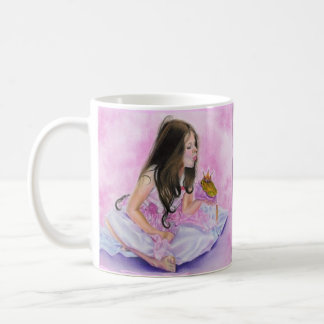 Little Princess Kissing Frog Mug