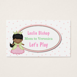 Little Princess Mommy Play Date Card