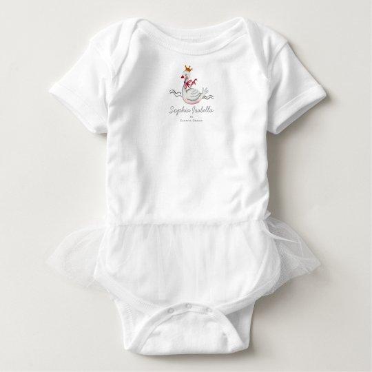 Little Princess Swan | Baby Girl | Bodysuit Tutu