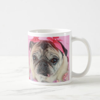 Little Pug Girl Mug