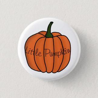 Little Pumpkin badge 1 Inch Round Button
