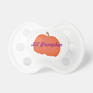 Little pumpkin pacifier, lil' pumpkin pacifier