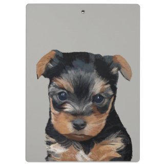 Little puppy Art Clipboard