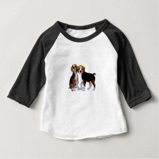 Little Puppys Baby T-Shirt