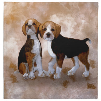 Little Puppys Napkin