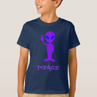 Little Purple Alien T-Shirt