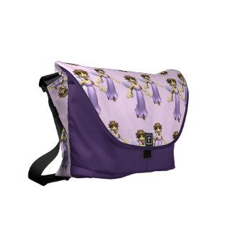Little Purple Faerie Commuter Bag