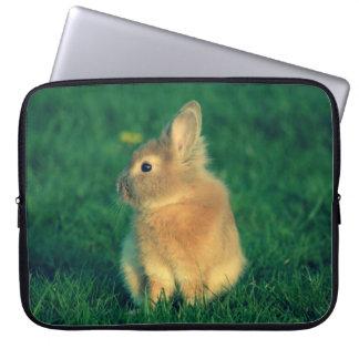 Little rabbit laptop computer sleeves