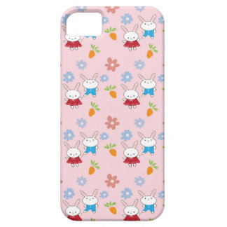 Little Rabbits patterns iPhone 5 Cases