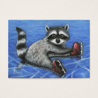Little raccoon ACEO prints Business Card