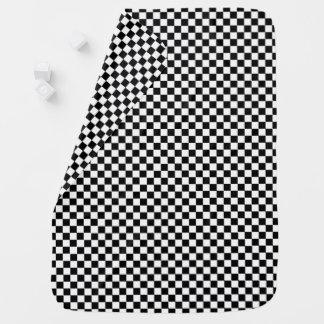 Little Racer Checkered Flag Baby Blanket