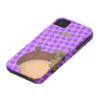 Little Racoon BlackBerry Purple Case iPhone 4 Cover