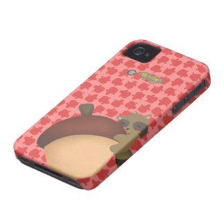 Little Racoon BlackBerry Red Case