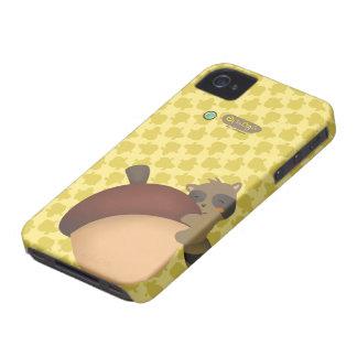 Little Racoon BlackBerry Yellow Case