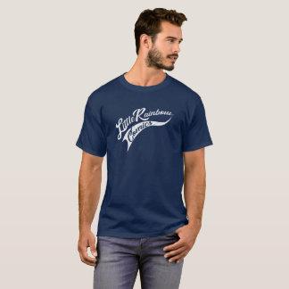 Little Rainbow Comics Pennant Dark T T-Shirt