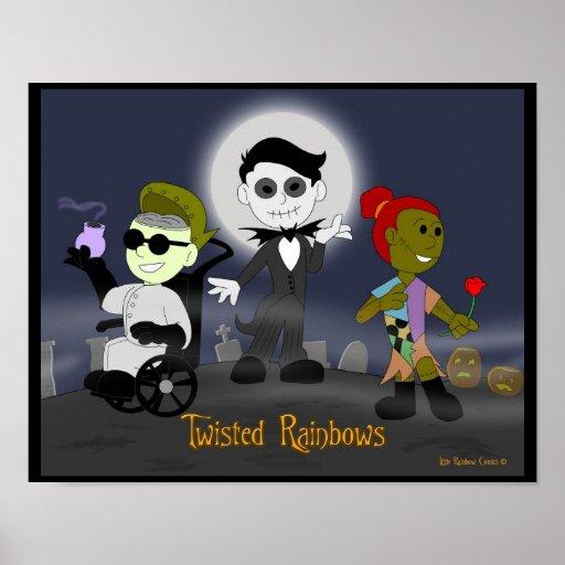 Little Rainbow Comics: Twisted Rainbows Poster