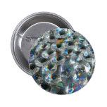 Little Rainbow Gems Pinback Button