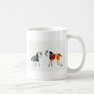 Little Rainbow Ponies Coffee Mug