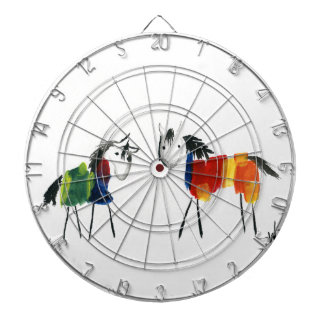 Little Rainbow Ponies Dartboard