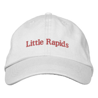 Little Rapids Embroidered Baseball Caps