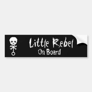 Little Rebel On Board Bumper Sticker