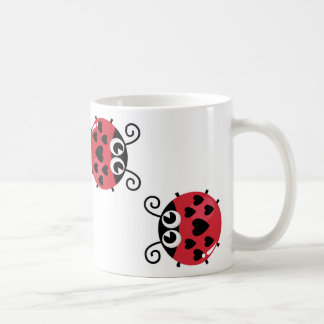 Little Red Bugs Coffee Mug