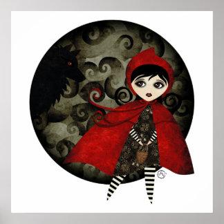little red capuccine canvas print TBA