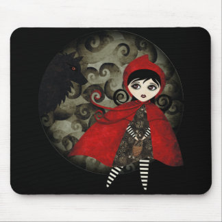 Little Red Capuccine Mouse Pad