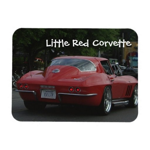 little red corvette magnet zazzle. Cars Review. Best American Auto & Cars Review
