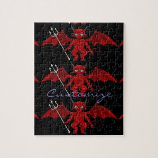 Little Red Devil Thunder_Cove Jigsaw Puzzle